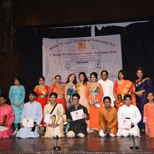 3rd Strings and Steps Youth Festival PARAMPARA 2019 in association with Payal Foundation and Andhra Pradesh Bhawan
